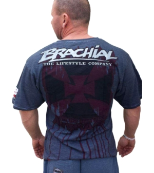"Brachial T-Shirt ""Twister"" Anthrazit"