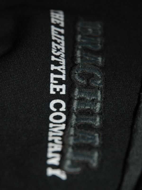 "Brachial Zip-Sweat ""Fuel"" Schwarz/Anthrazit"
