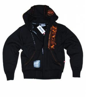 "Brachial Zip-Hoody ""Signature"" Schwarz/Orange"