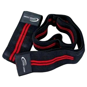 Best Body - Kniebandagen black red