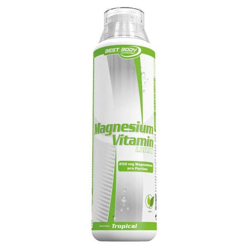 Best Body Nutrition Magnesium Vitamin Liquid | 500 ml