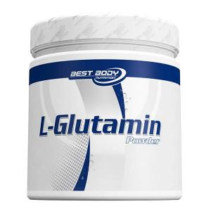 Best Body Nutrition L-Glutamin Pulver | 250 g