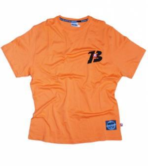 "Brachial T-Shirt ""Sky"" Orange/Schwarz"